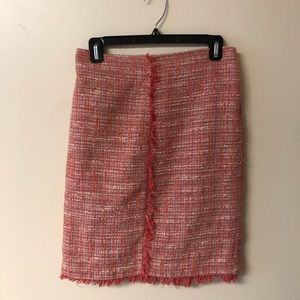 New York and co tweed midi pencil skirt size 2